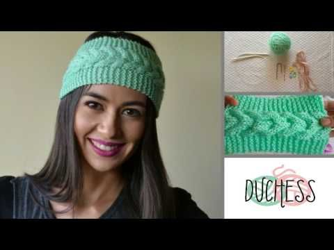 Turbante Trenzado A Crochet Diestra Youtube Otros