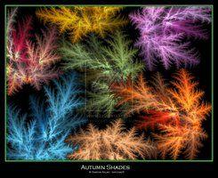 Fractal: Autumn Shades by simonsaz3