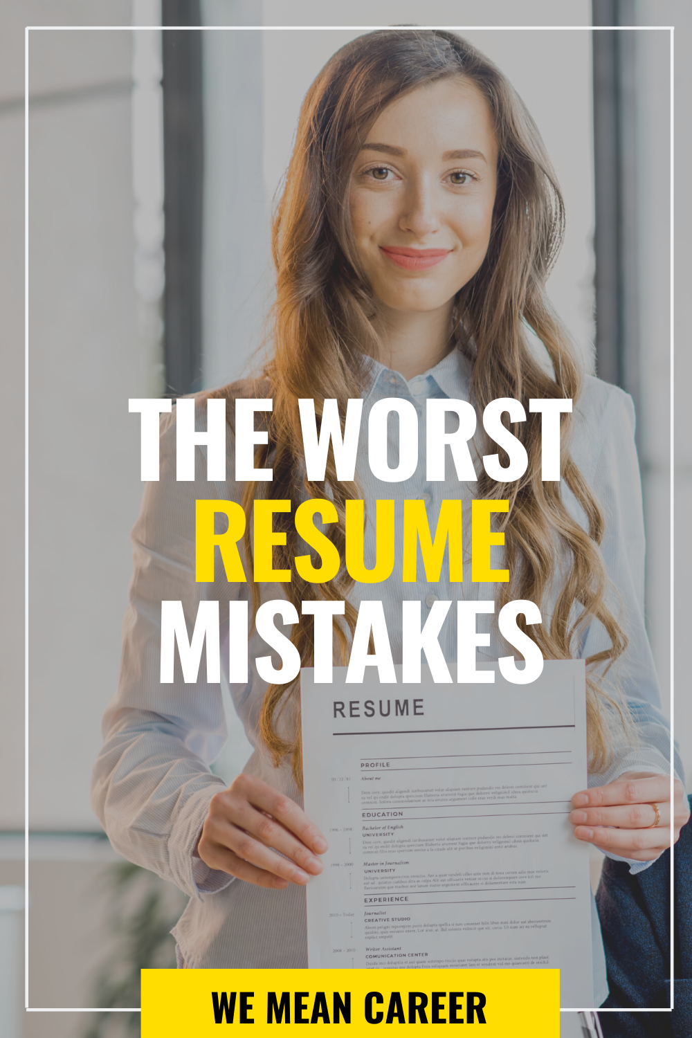 8 Most Common Resume Mistakes And How To Avoid Them Resume Job Search Tips Cover Letter For Resume