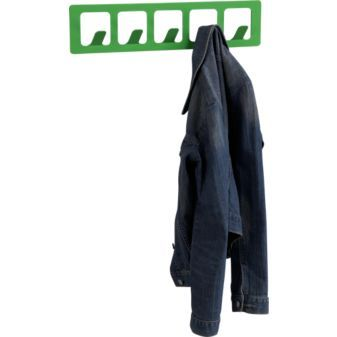 metal high gloss clover coat rack