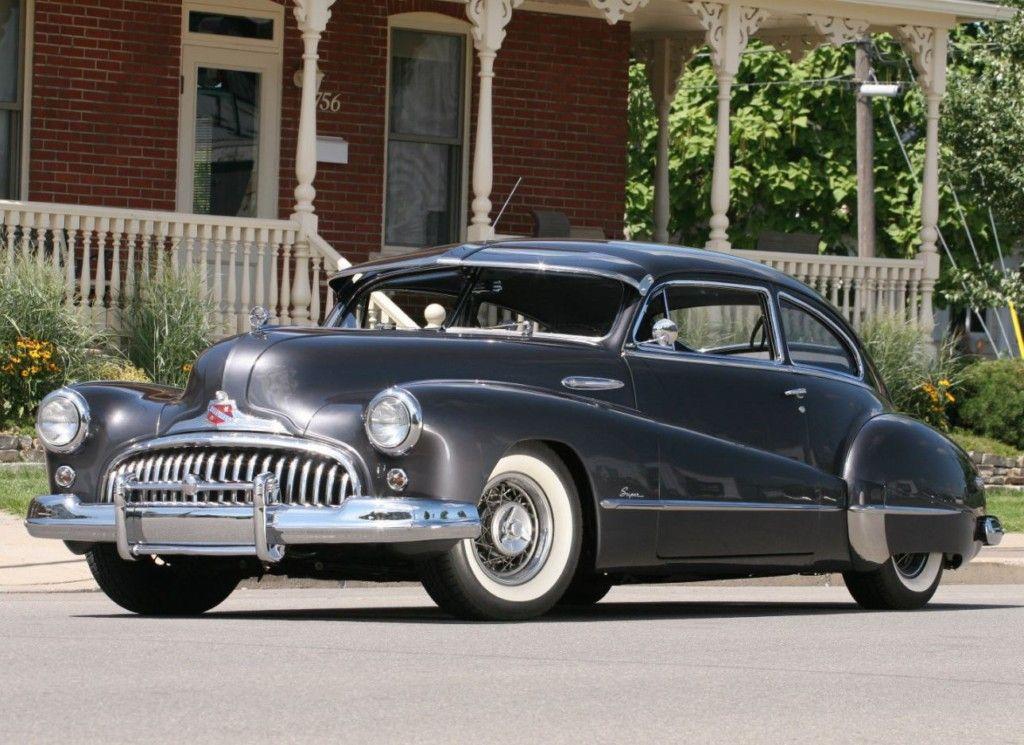 1948 Buick Super Sedanette | Motor City Girl | Pinterest | Classic ...