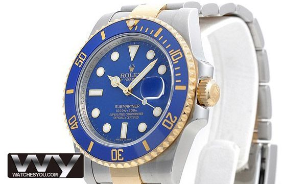 Rolex Submariner Oyster Bracelet Mens Replica Watch 116613LB