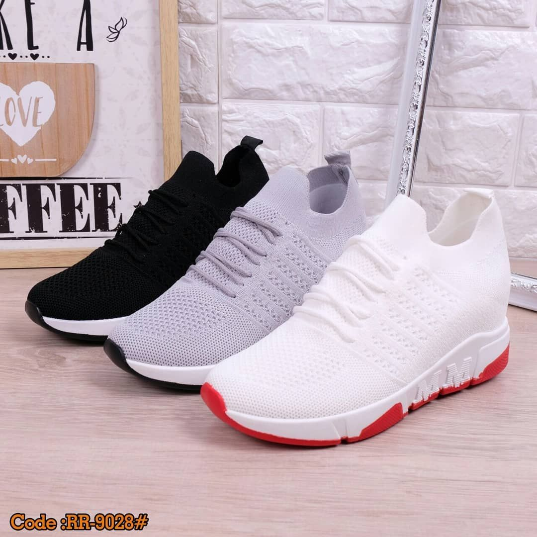 Idr 230 000 Cc Sepatu Sneakers Wedges Ideal Rr 9028 Size 36