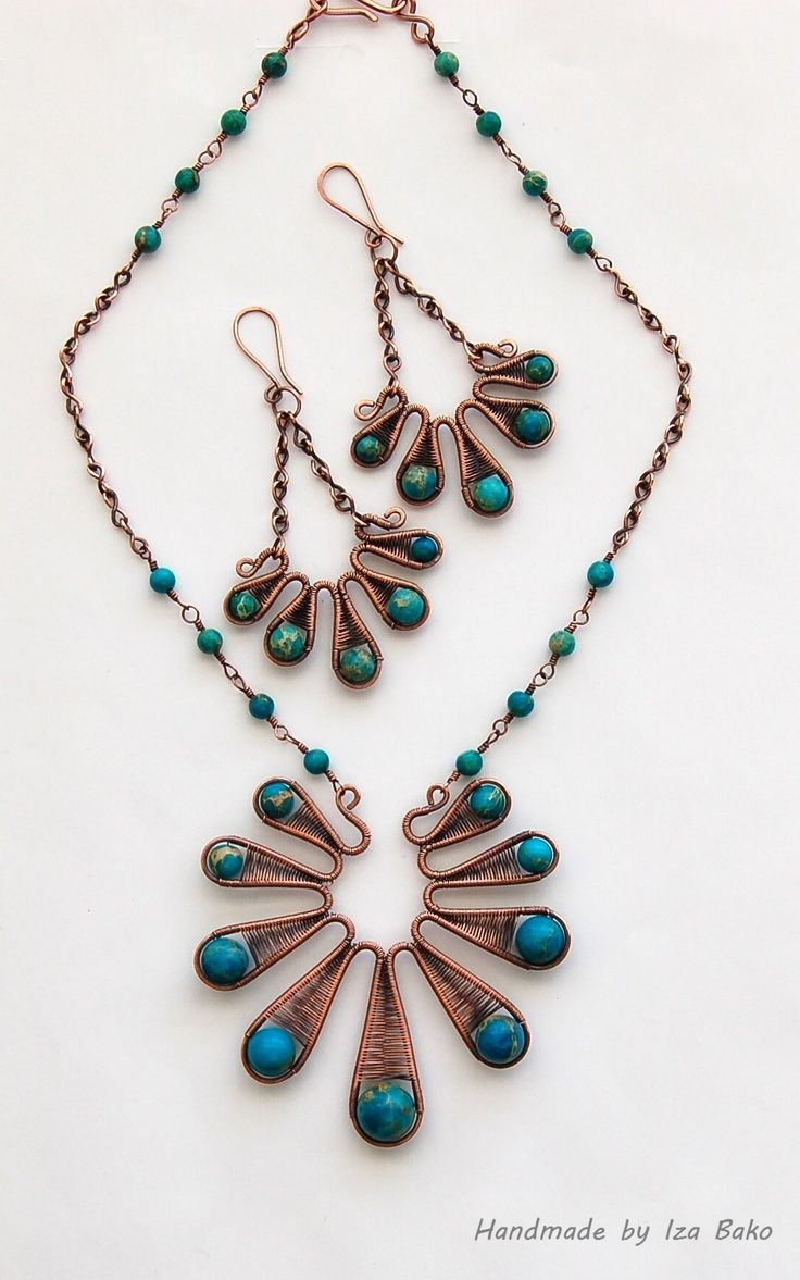 Wire necklace | wire work | Pinterest | Wire wrapping, Wraps and ...