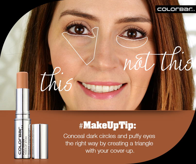 Pin by ColorBar Cosmetics on ColorBar Makeup Puffy eyes