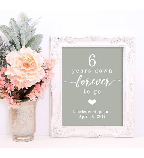 6 Year Anniversary Gifts For Men 6th Wedding Anniversary Gift 6