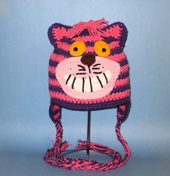 cheshire cat | love crafting :) | Pinterest | Gorros, Tejido y Cosas
