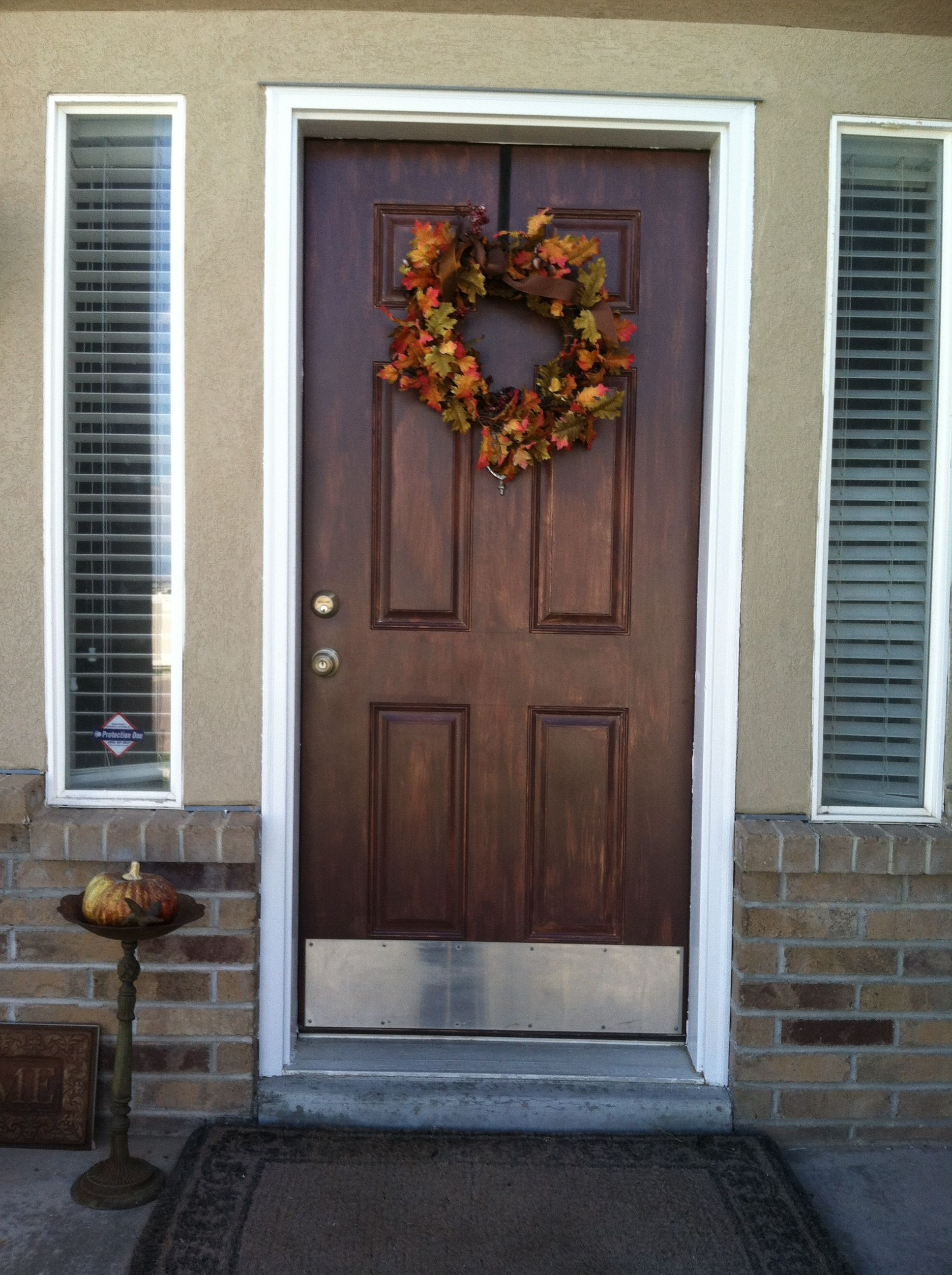 Pin By Diana Spaeth On Getting My Craft On Painted Front Doors Brown Front Doors Best Front Door Colors