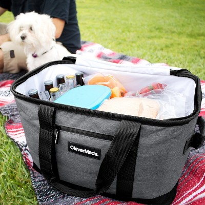 Clevermade Snapbasket 50 Can Soft Sided Collapsible Cooler