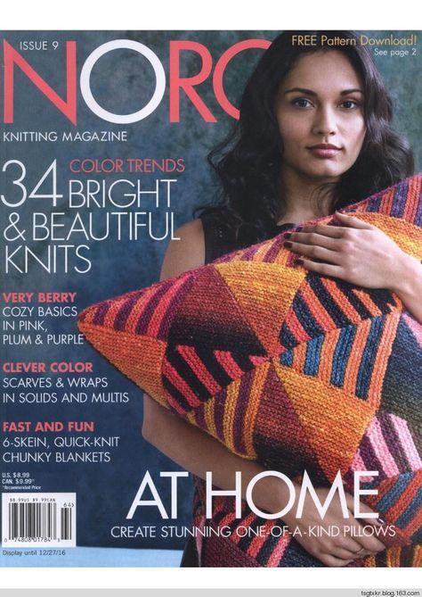 Noro Knitting Magazine 9 2016 A Whole Knitting Magazine