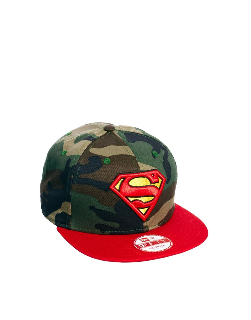 d680d63e141 New Era 9Fifty Snapback Cap Superman