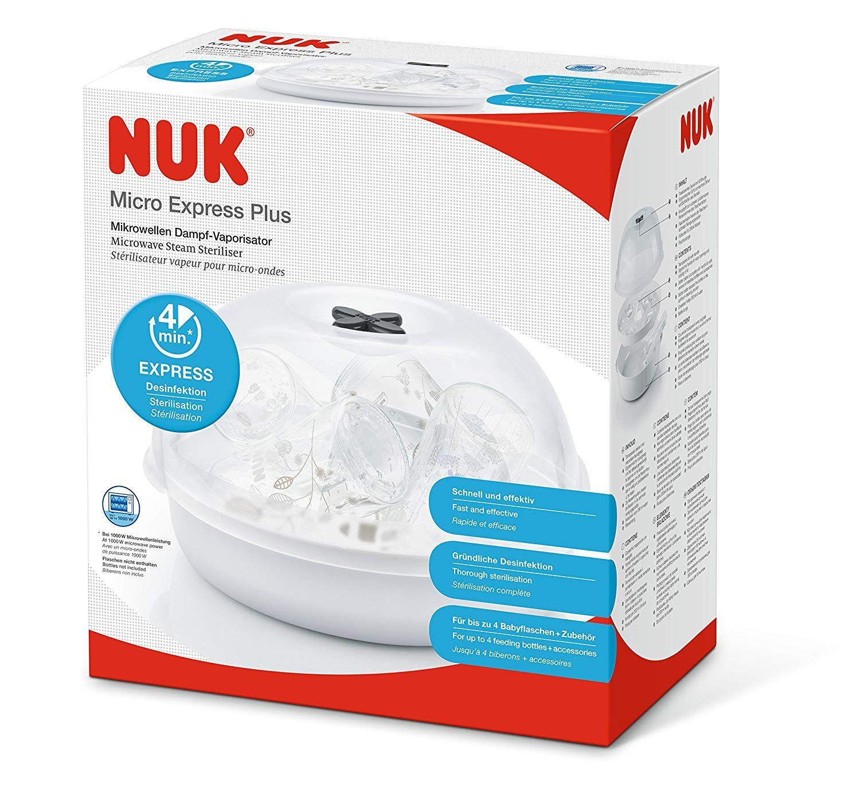 Aldi Nuk Micro Express Plus Mikrowellen Dampf Vaporisator Online