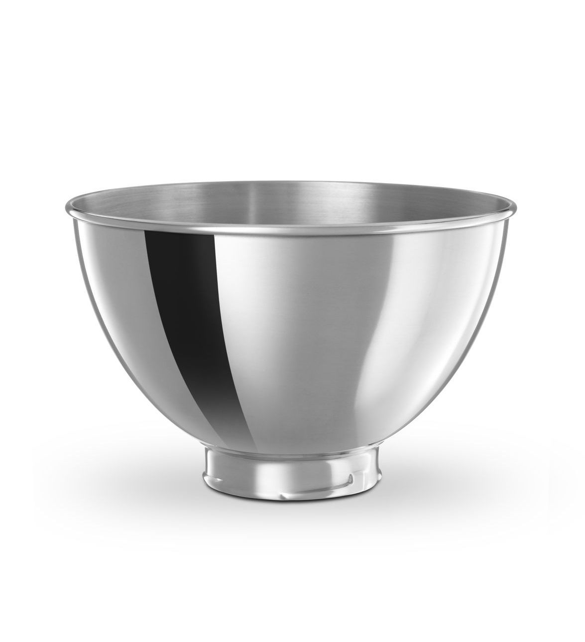 284 l polished stainless steel bowl for tilt head stand