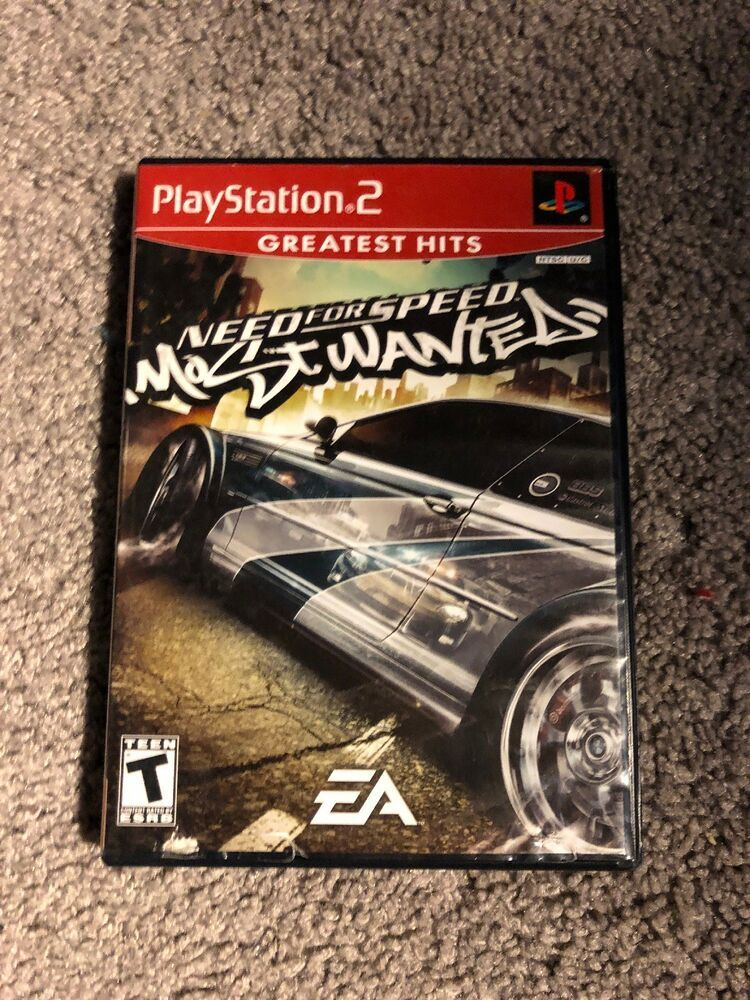 Need For Speed Most Wanted Sony Playstation 2 2005 Manual And