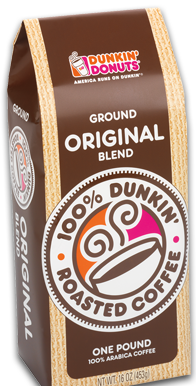 My favorite brand of coffee Dunkin donuts, Dunkin, Coffee