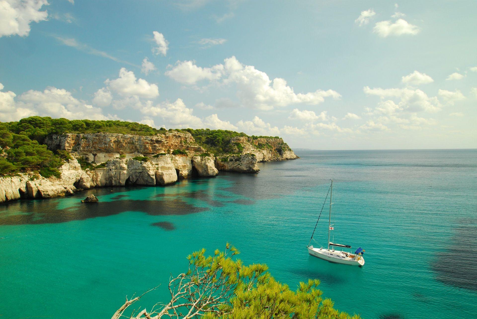 Fonds D Ecran Portugal Mer Cote Ciel A Voile Yacht Madeira Roc Nature Image Minorque Paysage Fond Ecran
