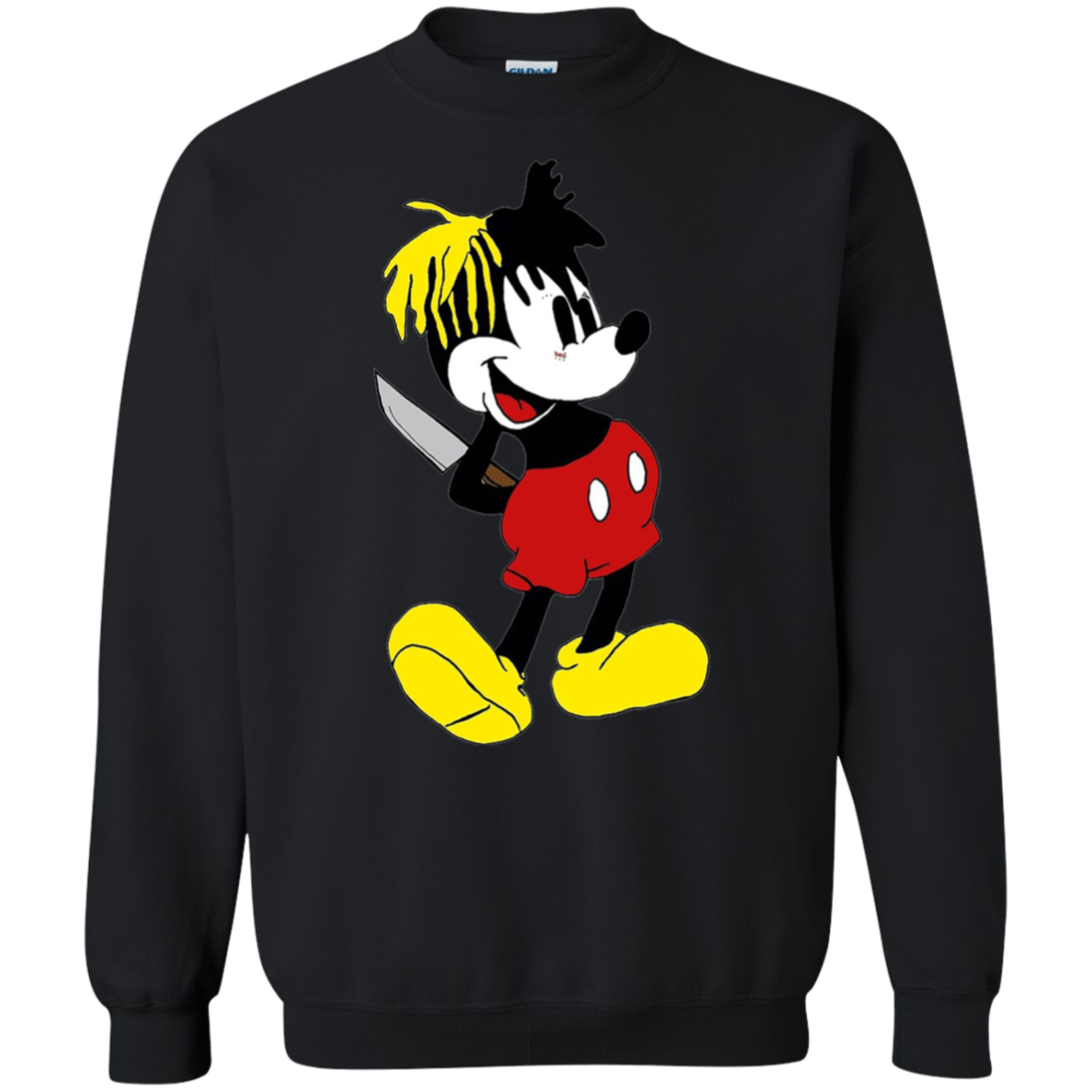 0f9469acfbbebd XXXTentacion Mickey Mouse Sweater Mickey Mouse