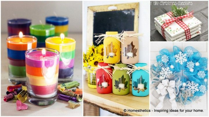 Easy Crafts You Can Do For Your Home Crafting