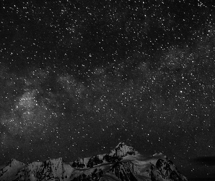 Anime Starry Night Sky Wallpaper Iphone di 2020