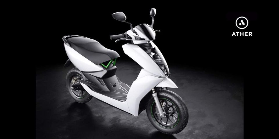 Ather Energy S340 A Smart Electric Scooter That S Truly Made In