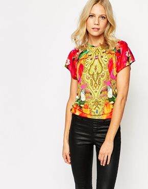 Ted Baker T-Shirt in Paisley Toucan Print