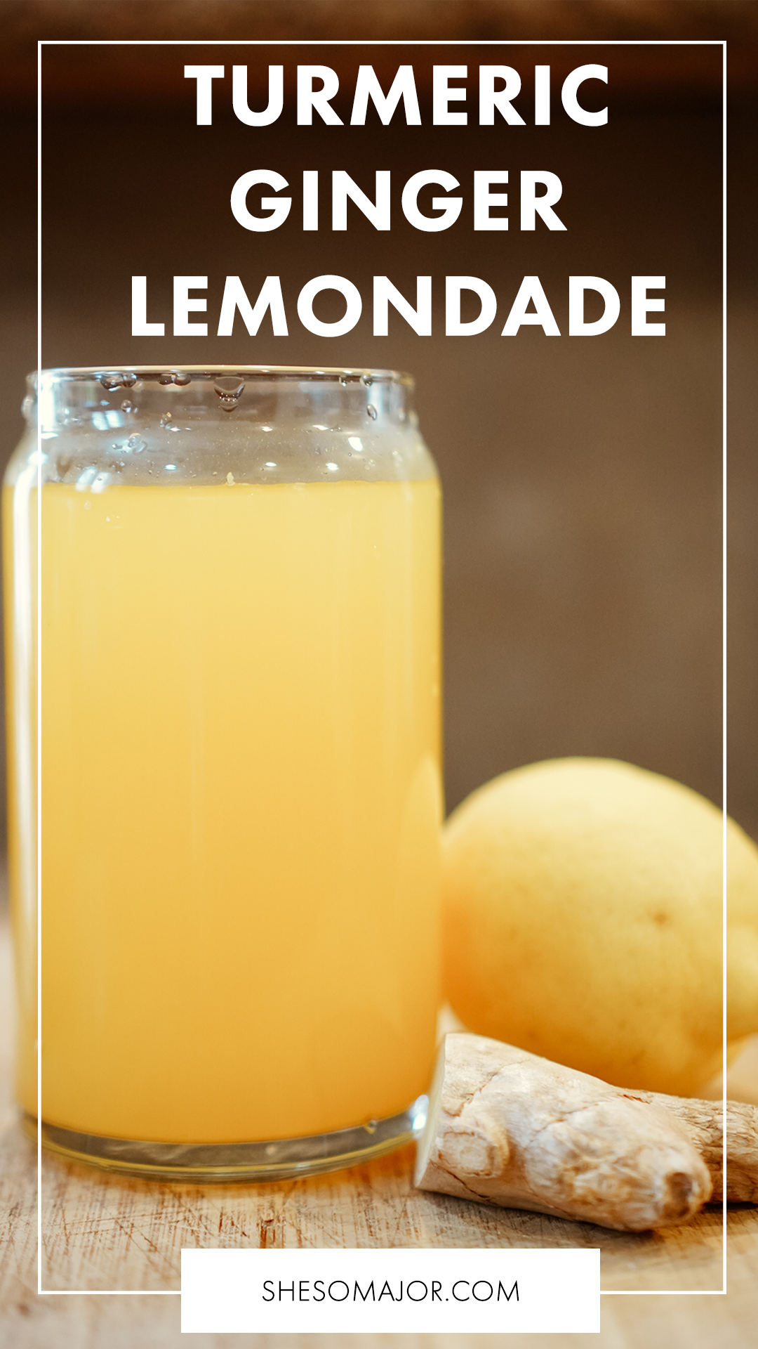 Something Delicious: Turmeric Ginger Lemonade