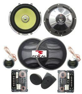 Focal K2 Power 165 KRX2 6 5-Inch High Power 2-Way Component
