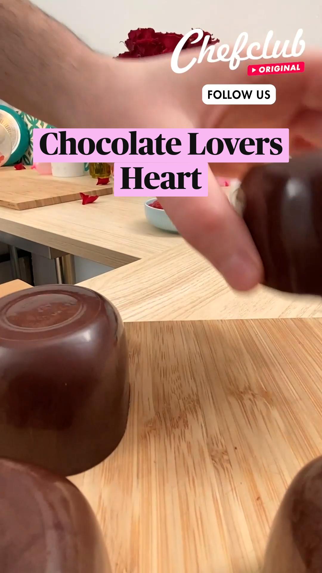 Chocolate Lovers Heart