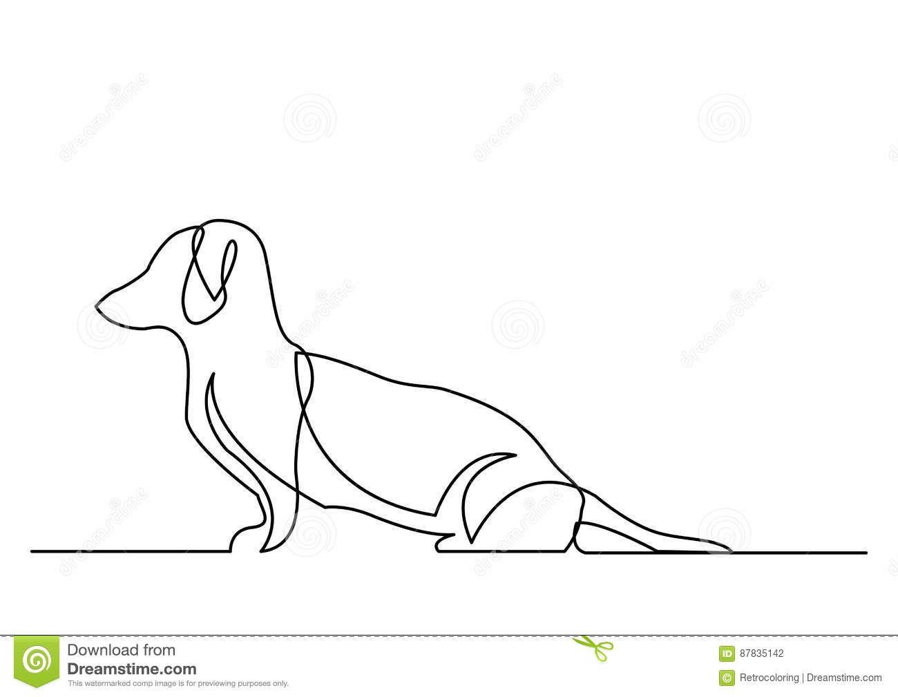 Dibujo Lineal Continuo Del Perro Basset Descarga De Over 68 Millones De Fotos De Alta Calidad E Imagenes Vectores Inscribete Gra Dibujo Lineal Basset Vector