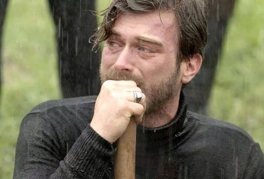 kivanc-This was so sad, he and his brothers had to bury their