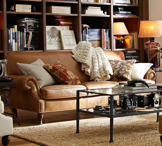 Brooklyn Leather Sofa | Leather sofa, Sofa, Sofa furniture