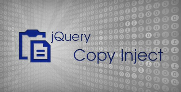 jQuery Copy Inject (Social Networks)