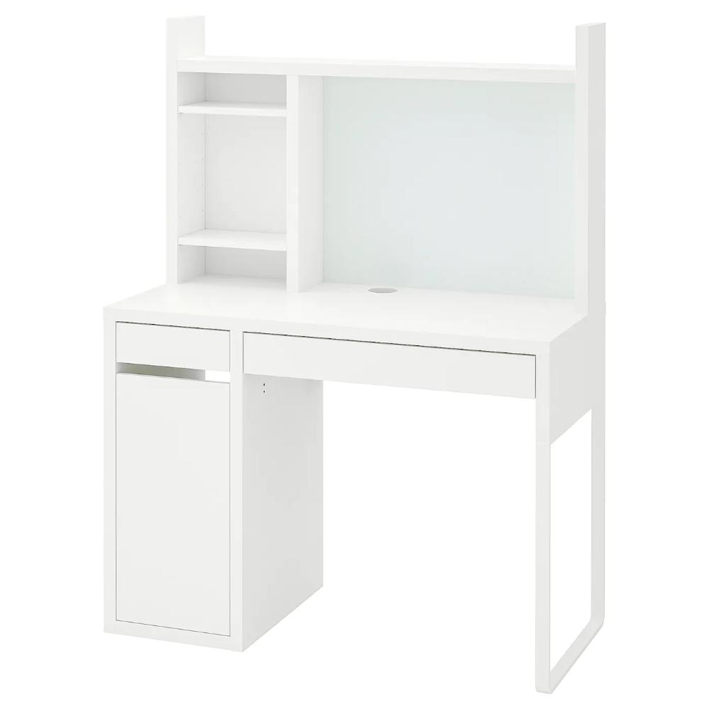 Micke Desk White 41 3 8x19 5 8 Add To Cart Ikea In 2020 Micke Desk White Desks Ikea Micke