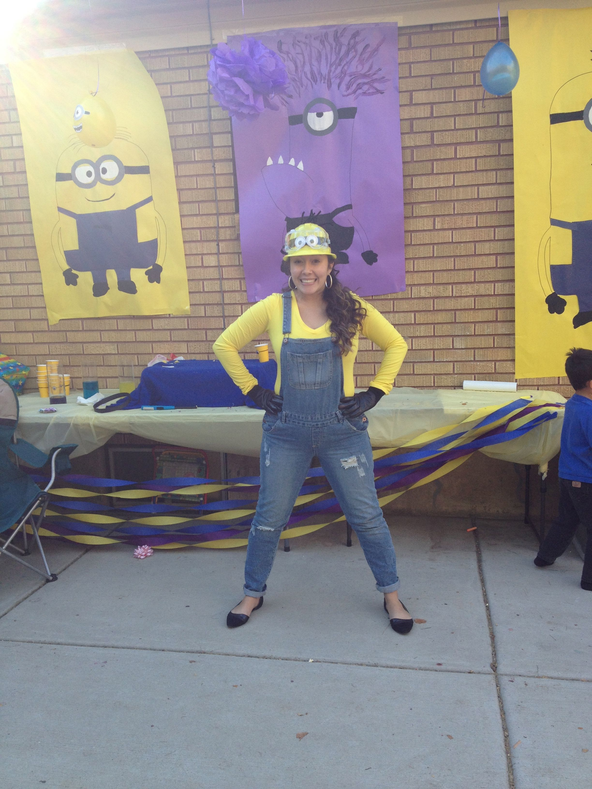 Store Banne Sunny Inch Minion Party Outfit Mommy Minion I Could So Pull This Off