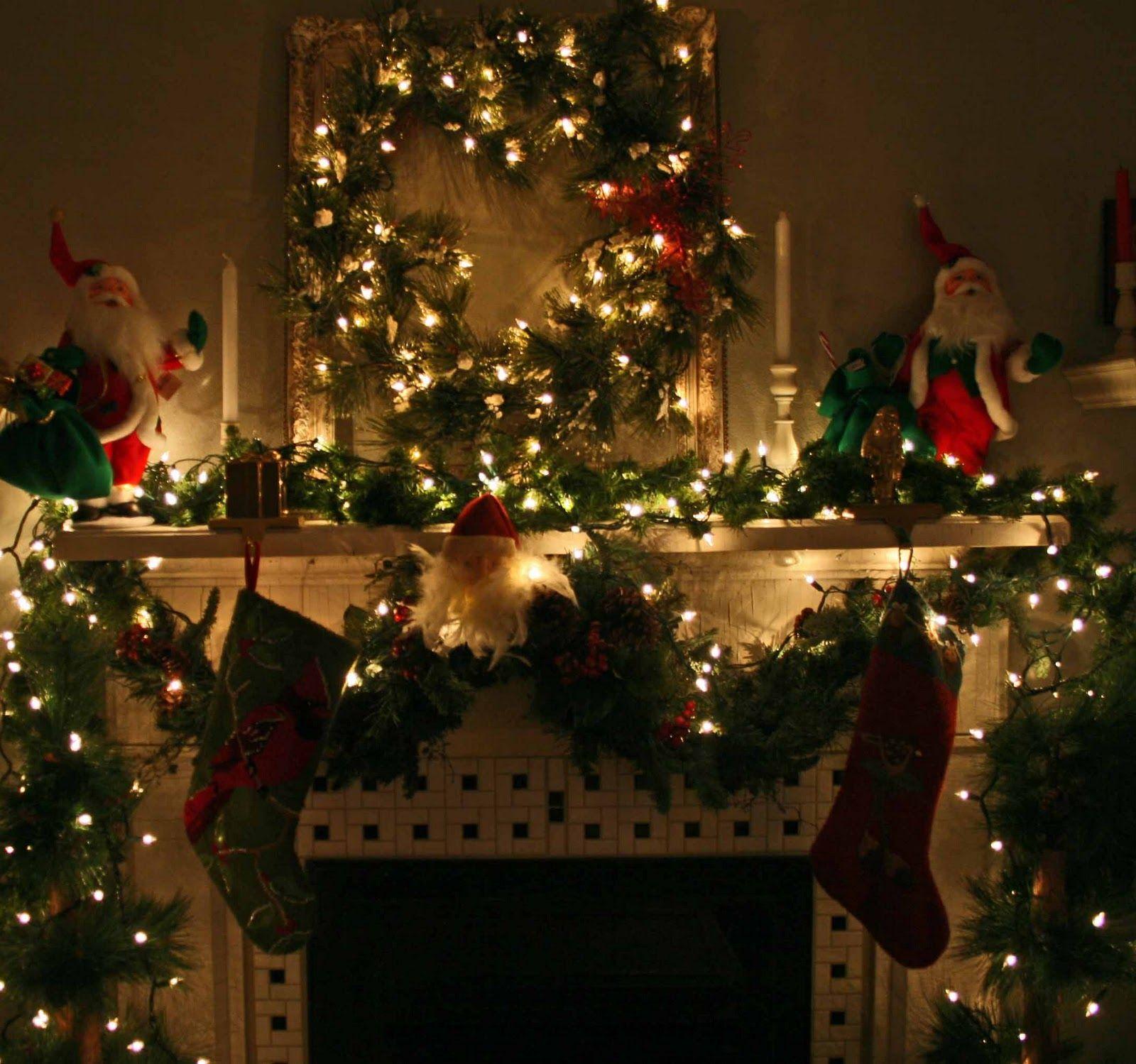 Christmas fireplace fire holiday festive decorations 5 wallpaper | 1600x1499 | 203860 | WallpaperUP