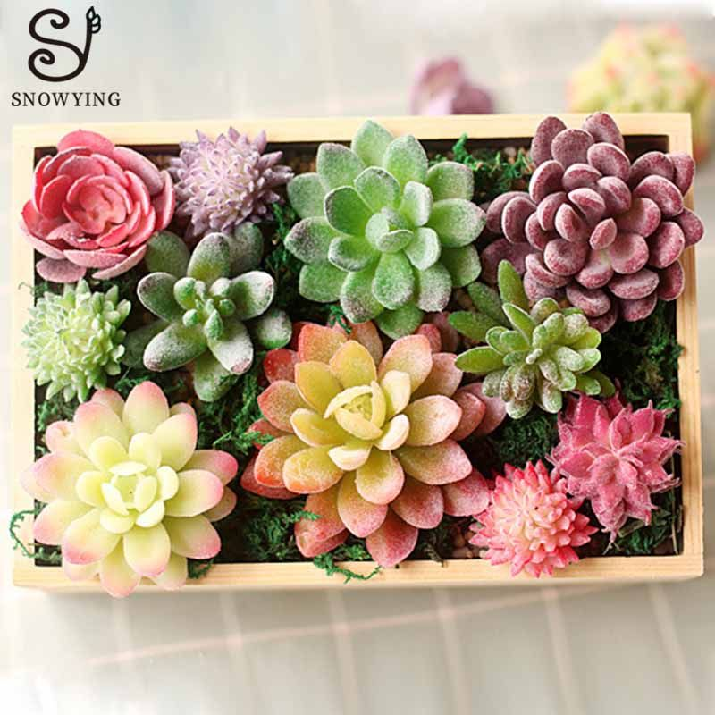 Cheap Artificial Plants Buy Directly From China Suppliers Mini Artificial Succulent Plant Diy M Fake Plants Decor Planting Succulents Cheap Artificial Plants