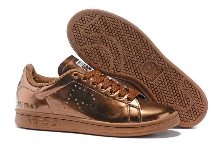 1767 : Adidas Stan Smith Billigt Dam Herr Gul