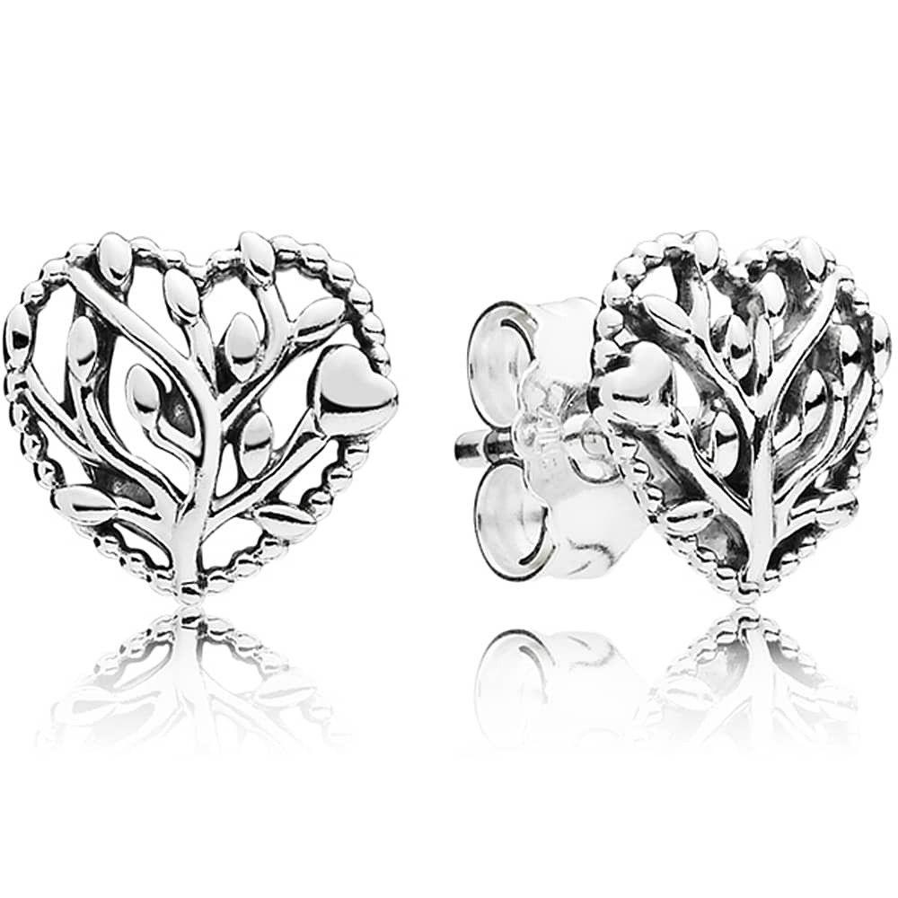 Pandora Flourishing Hearts Stud Earrings 297085 Gift Ideas