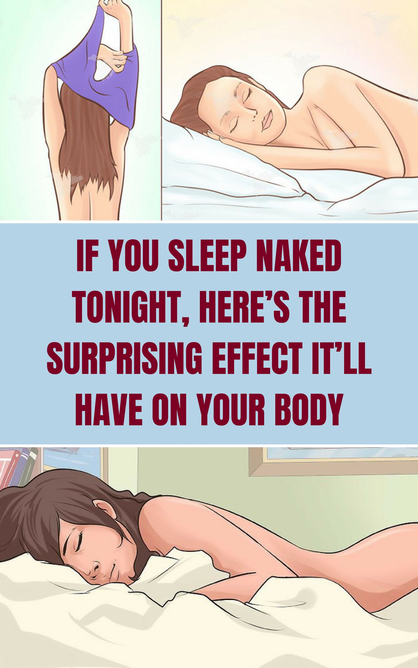 Home remedies does girls sleep naked