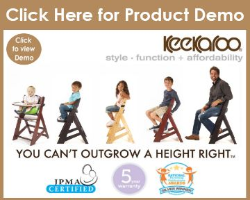 We Truly Enjoyed Using The Keekaroo Height Right With Infant Insert Chair.  It Was The First In A Round Of High Chairs That We Brought Into Our Kitchen  For ...