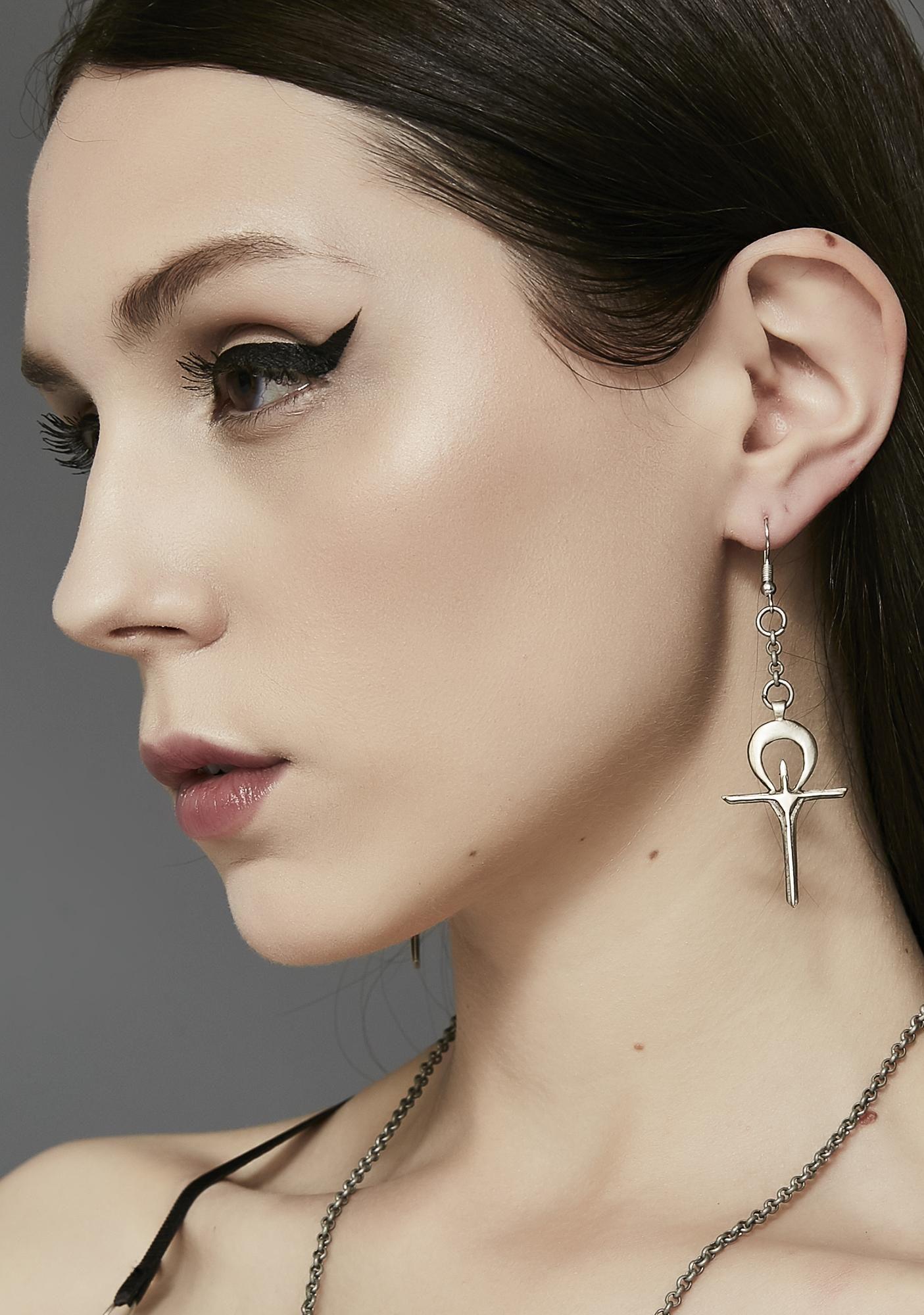 Acid Queen Jewelry X Widow Immortal Souls Earrings at Dolls Kill bdeaec6d2