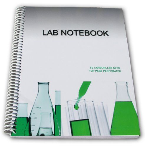 Lab Notebook 50 Carbonless Pages Spiral Bound Top Page Perforated By Barbakam Http Www Amazon Com Dp 0988354918 Ref Cm S Lab Safety Rules Notebook Graphing