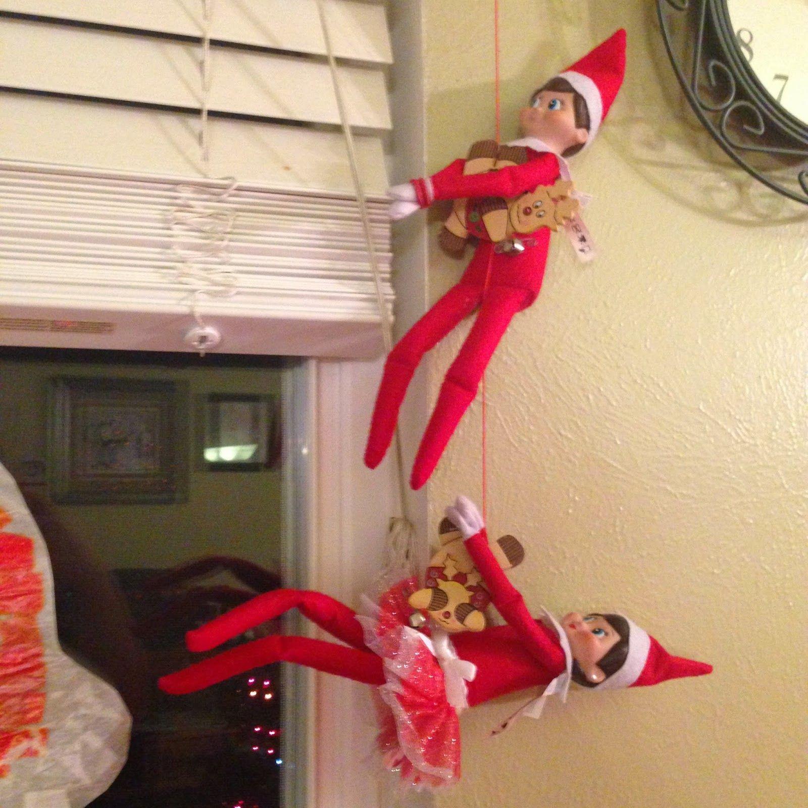 Elf On The Shelf Fun With 2 Elves Elf On The Shelf