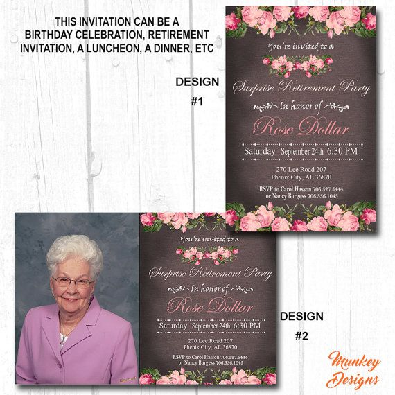 60th Birthday Invitations Women 30th For Her