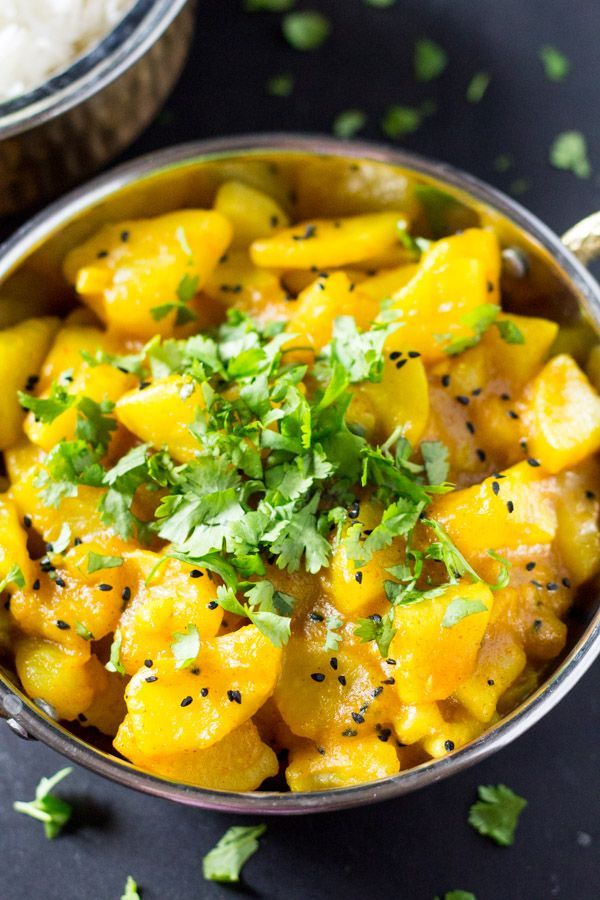 Indian potato curry recipe potato curry super easy and curry forumfinder Images