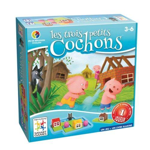 Les 3 petits cochons est un jeu de réflexion évolutif dans lequel l - aide pour construire une maison