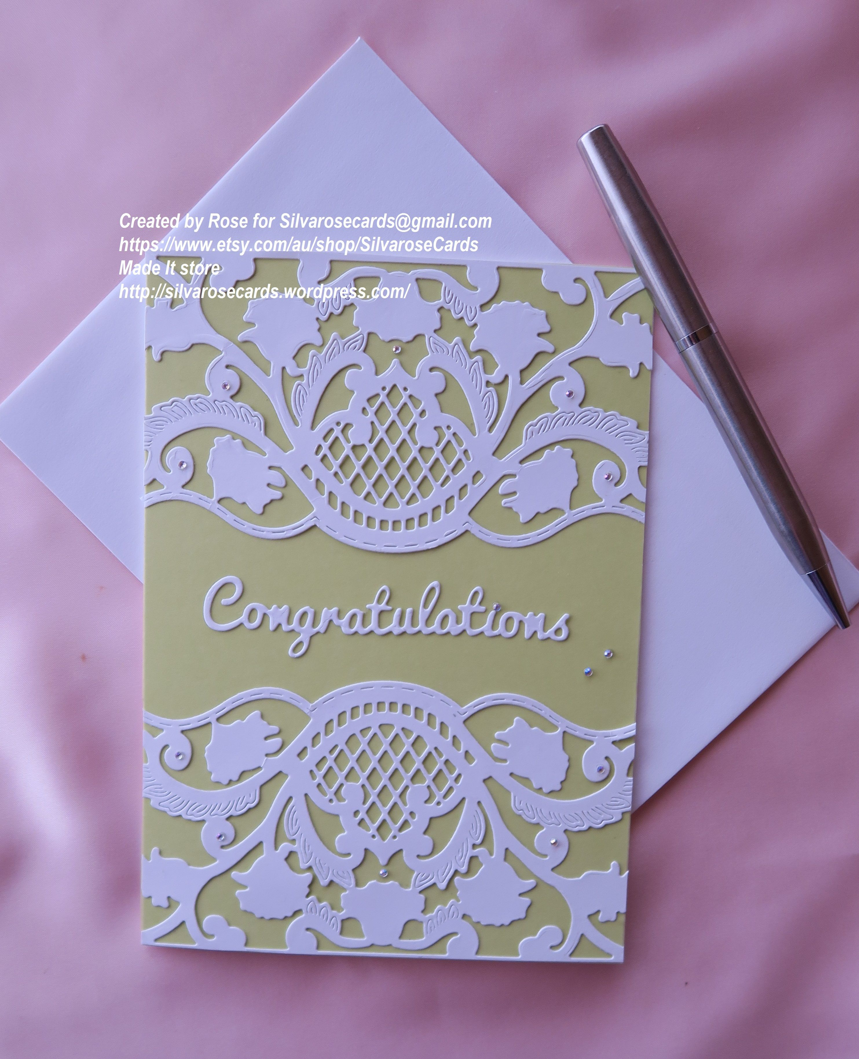 A wedding/anniversary/engagement card for someone special