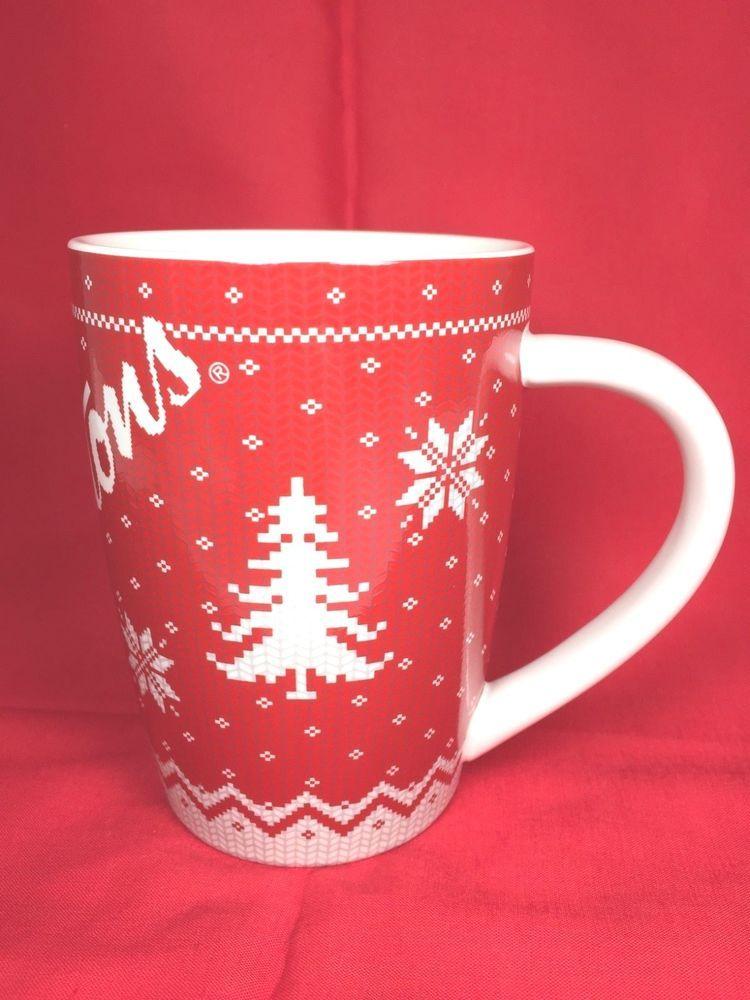 Tim hortons coffee mug cup winning goal hockey souvenir collector.