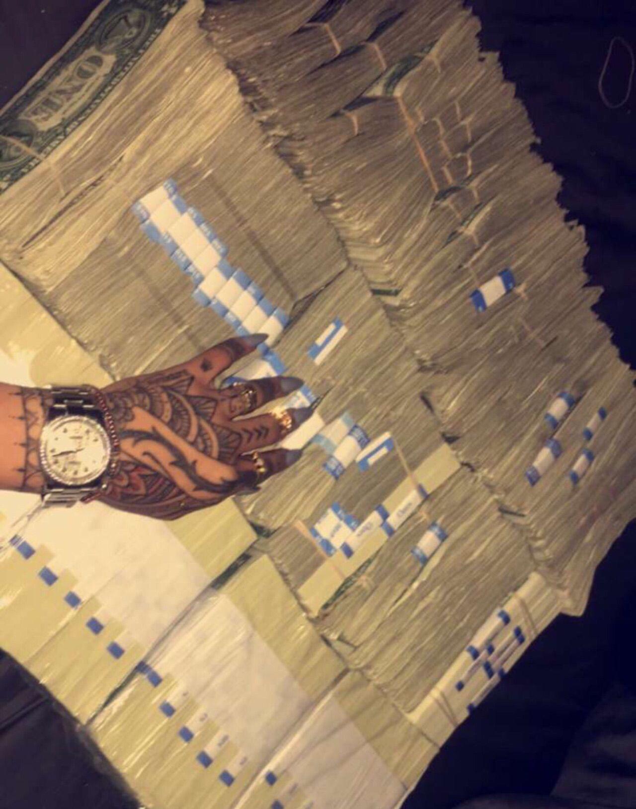 More Than Likely Stripper Money But Hell Still Goals