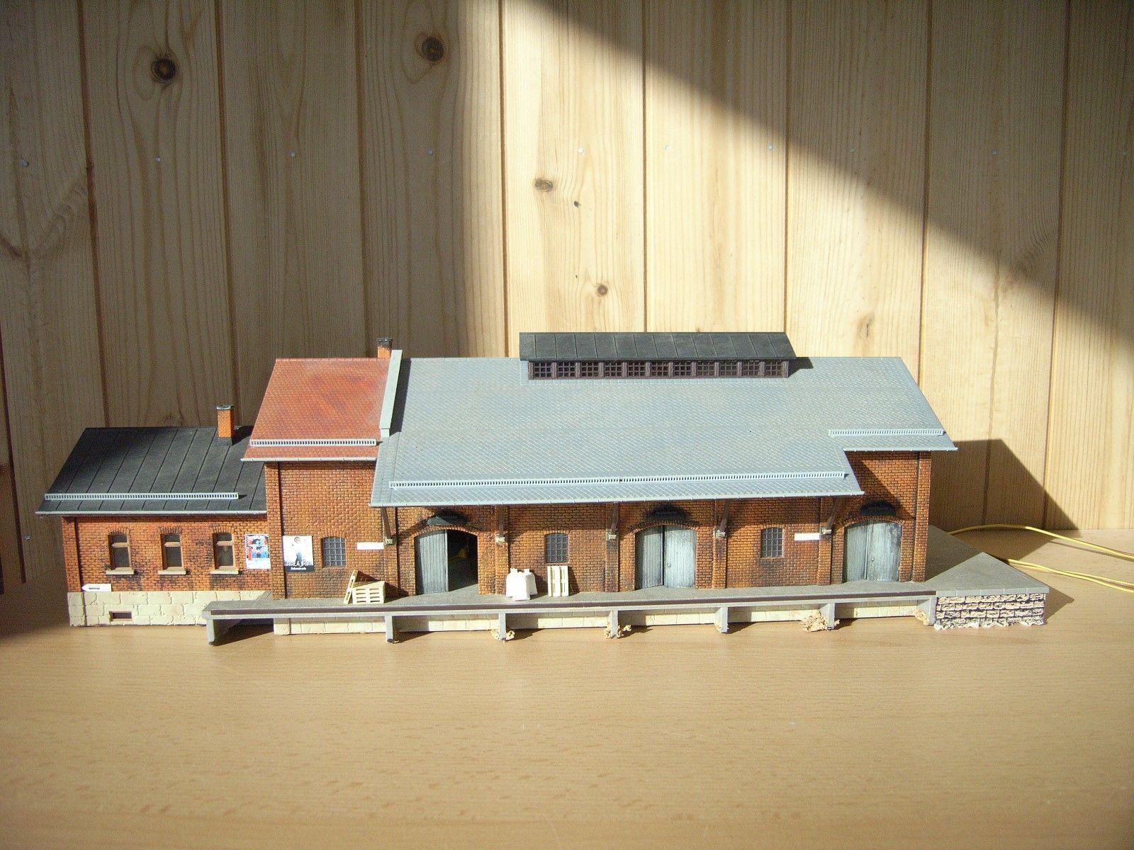 Kibri Ho 9462 Guterschuppen Munchberg Top Fertig Inneneinrichtung Beleuchtung Ebay House Styles Mansions Scenery